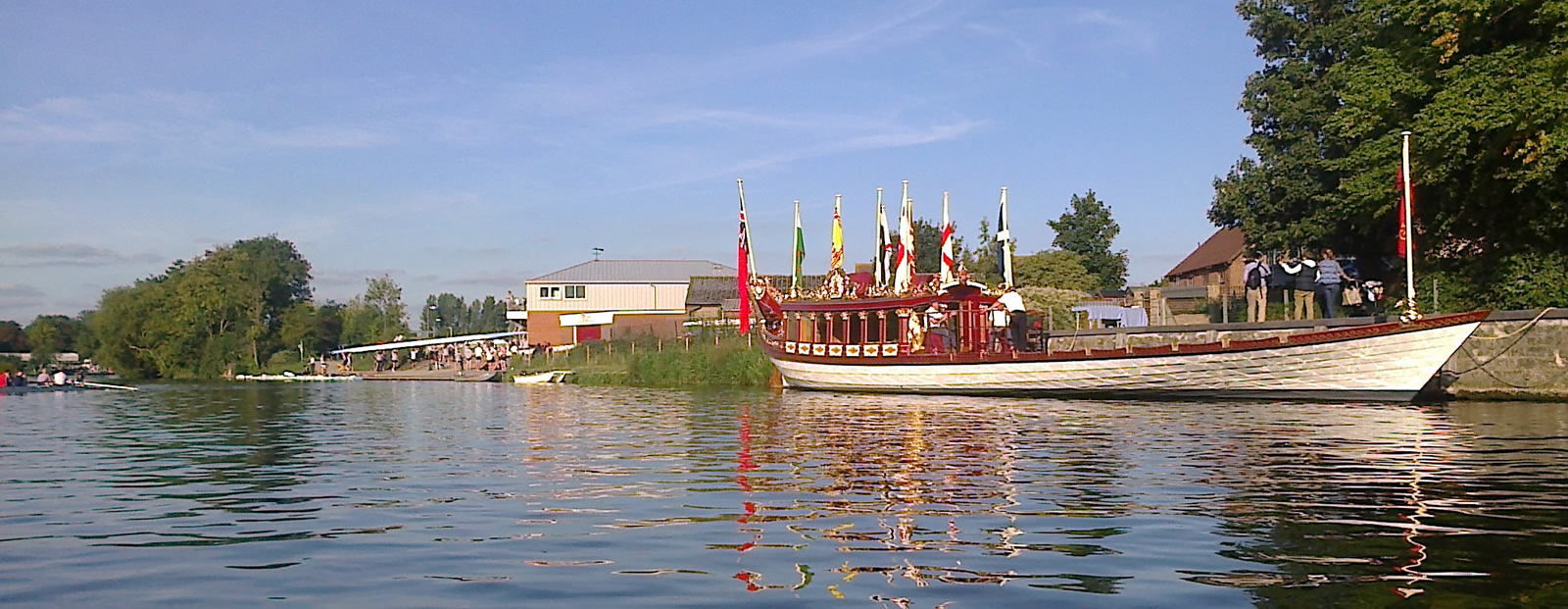 Queens Royal Barge Gloriana