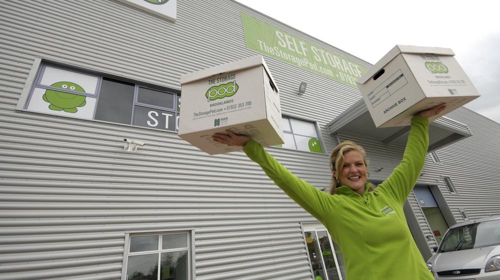 Storage Pod Founder Linda Conway