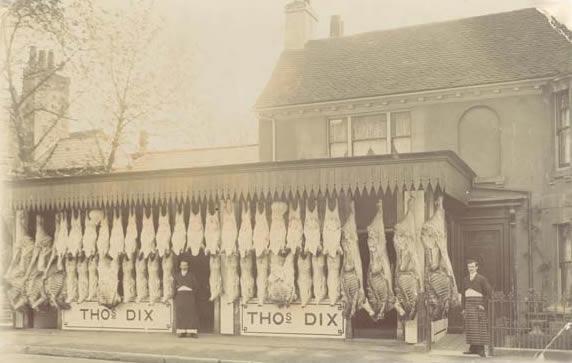 Thos Dix Butchers Weybridge Surrey History