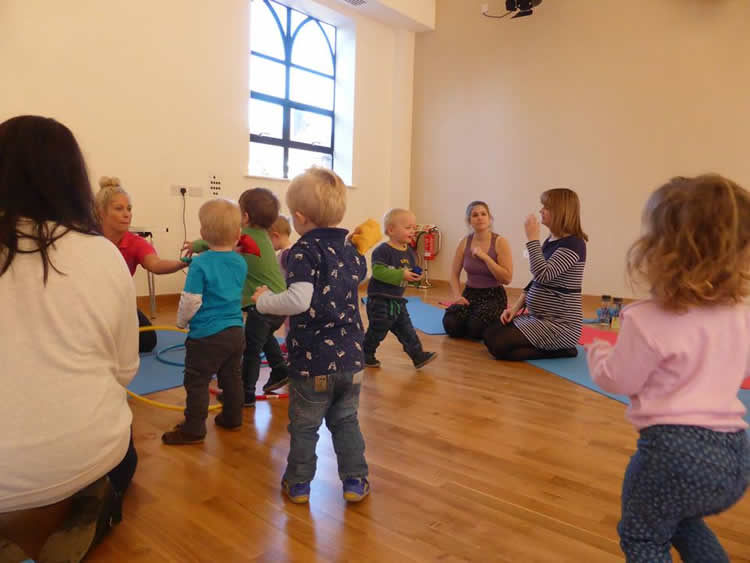 Toddler Group Fitness Fun Classes Surrey