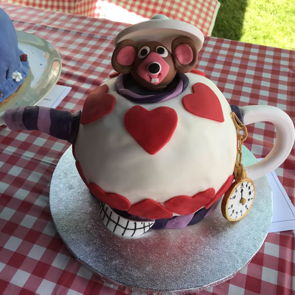 Weybridge Cake Competition - Winner of Mad Hatters Tea Party Celebration Cakes - Children