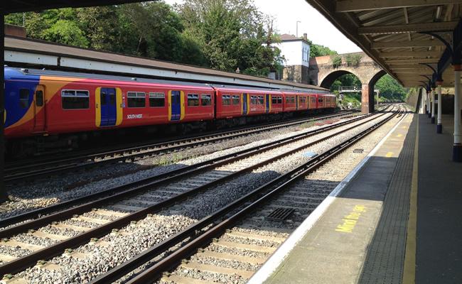 Weybridge Train Station