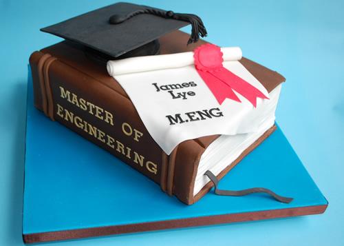 3D Graduation Cake