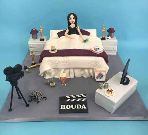 Birthday Cake Bedroom Movies