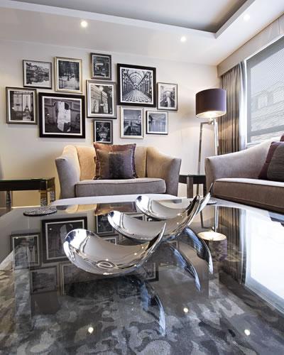 London Living Dining Room Interior Design