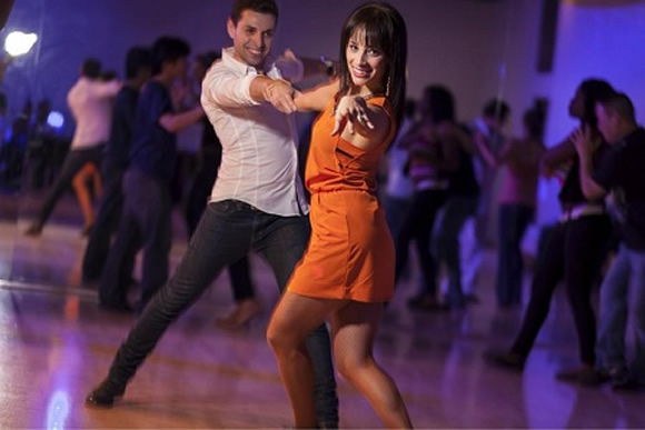 Man Dancing with Woman - Esher Dance Classes