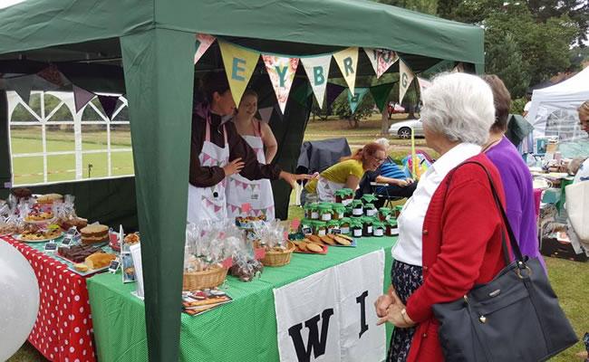 Weybridge WI - Womens Institute Market Stall